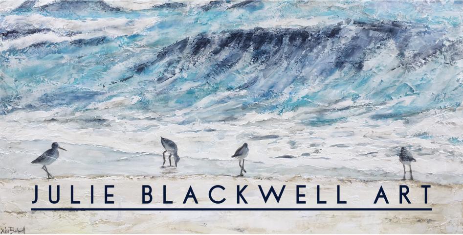 Julie Blackwell Art Banner